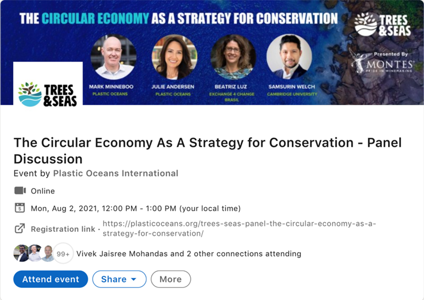 The Circular Economy as A Strategy for Conservation