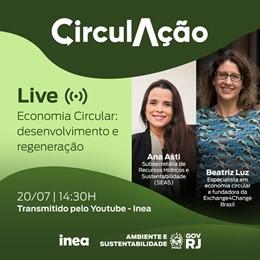 LIVE – Economia Circular: Desenvolvimento e Regeneração